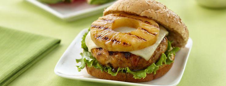 Teriyaki Pineapple Turkey Burgers main image