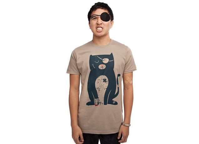 """Survival Kitty"" - Threadless.com - Best t-shirts in the world"
