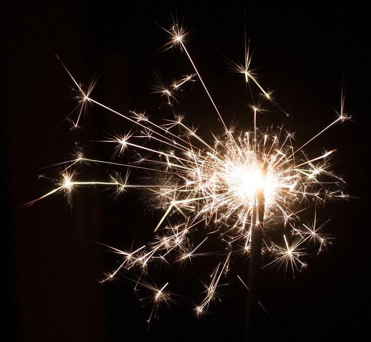 Sparks flying allover.