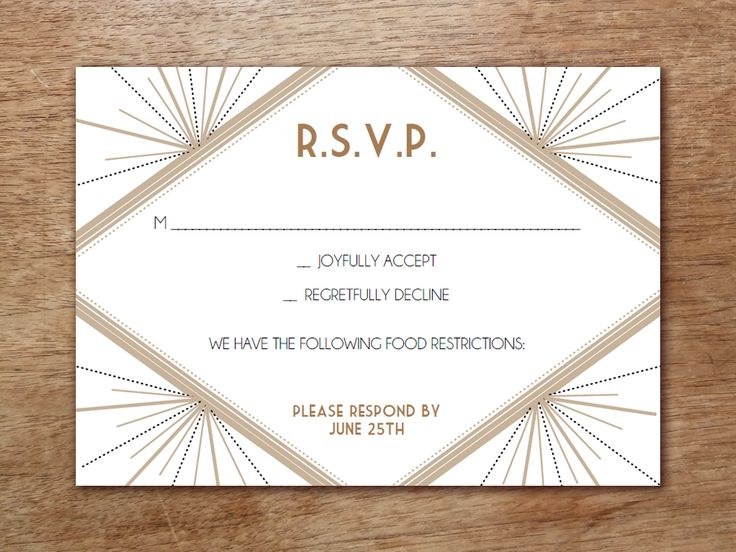 217 Best Wedding Invitations Images On Pinterest Bridal   Free Rsvp Card  Template  Free Rsvp Card Template