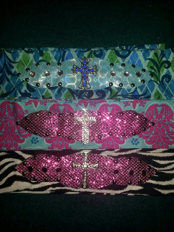 Western Bling cowgirl headbands, handmade by me, buy yours at www.facebook.com/cowgirlcreationsjewelrybytess