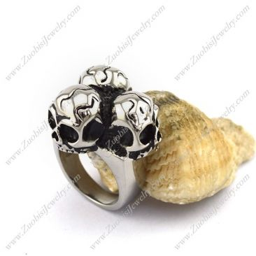 r002898 Item No. : r002898 Market Price : US$ 30.60 Sales Price : US$ 3.06 Category : Skull Rings