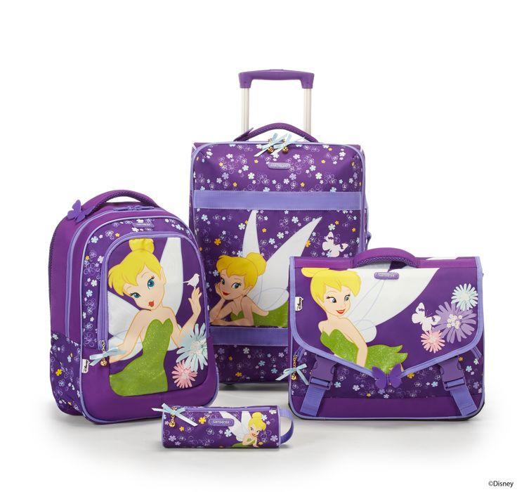 Disney Wonder - TinkerBell Collection by Samsonite #Disney #Samsonite #Mouse #Travel #Kids #School #Schoolbag #MySamsonite #ByYourSide