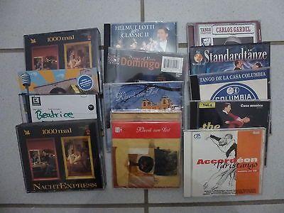 CD Paket, 15 Stück, Tanzmusik+Schlager, Tango, Standard, Klassik, Domingo, Lottisparen25.com , sparen25.de , sparen25.info