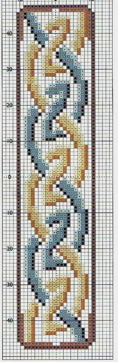 Celtic Cross Stitch Border