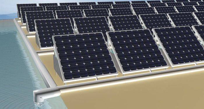 This Solar Powered Device Produces Energy And Cleans Water At The Same Time Solar Panels Solar Solar Heating