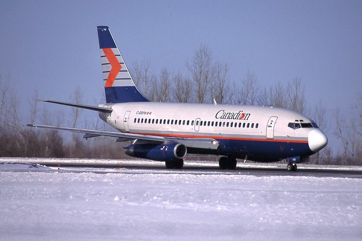 Canadian Airlines - Boeing 737-275Adv