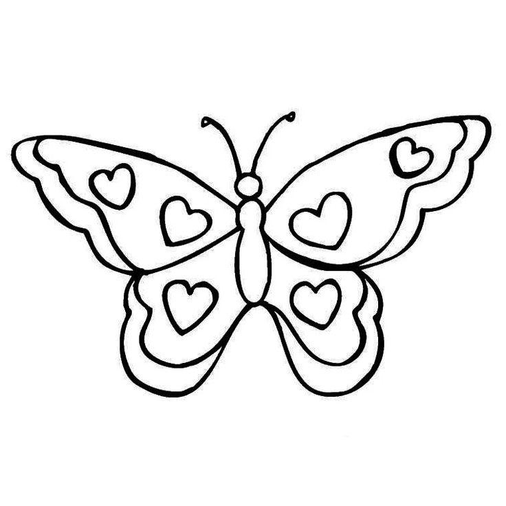 25 best ideas about coloriage papillon on pinterest - Image papillon a colorier ...