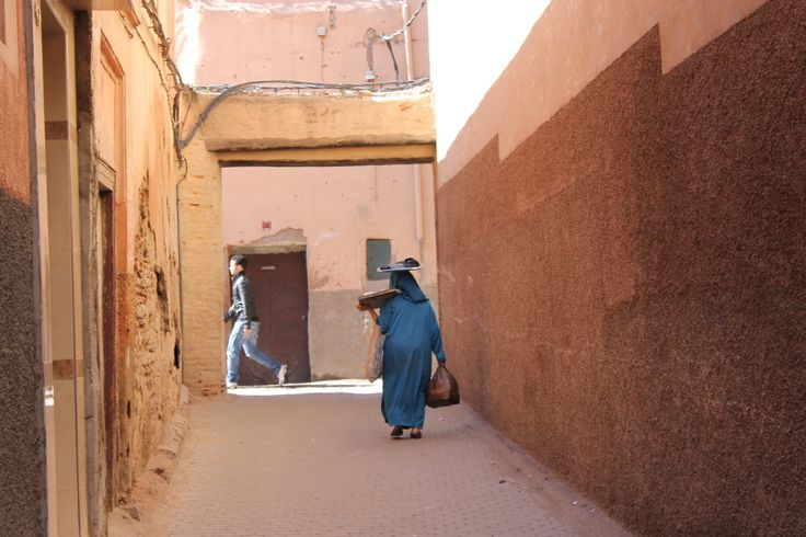 Corridor street #2 Marrakech, by Phoebe Chetwynd-Talbot