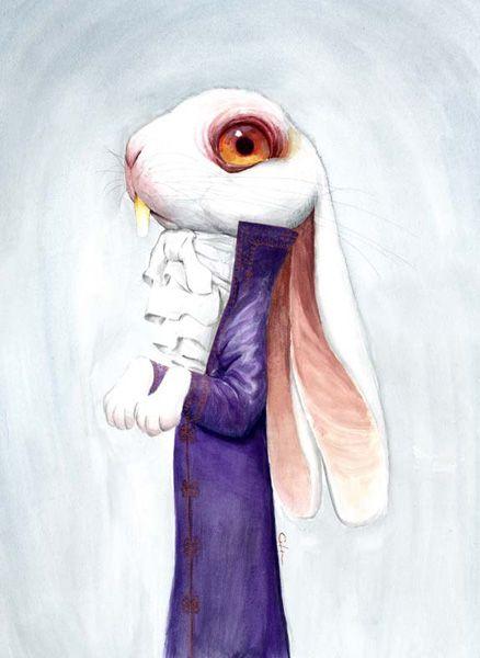Lapin in Wonderland.