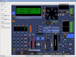 Programa microcontrolador PIC Simulador