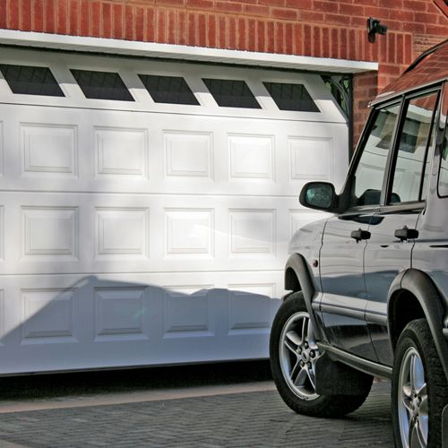 Automatic, Electric, Remote Control, Sectional, Roller Shutters, Up and Over & Side Hinged Garage Doors