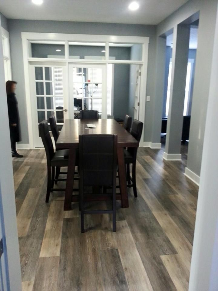 LVT is one of our newest, hottest product. Waterproof and scratch-resistant, Coretec Plus is a quieter alternative to traditional laminate.