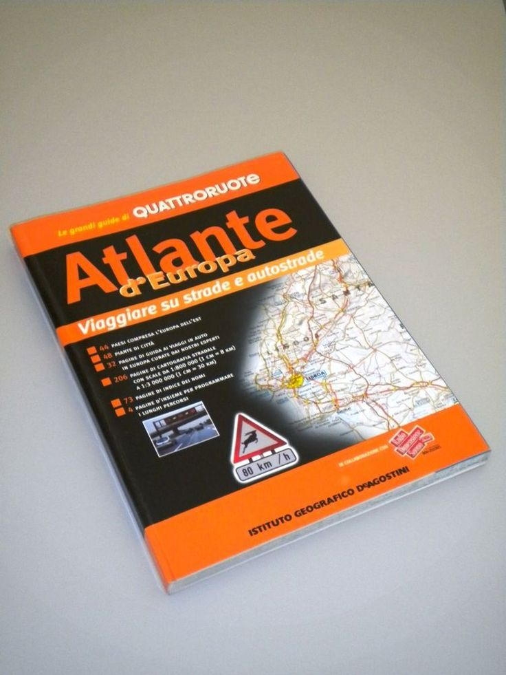 ATLANTE STRADALE D'EUROPA