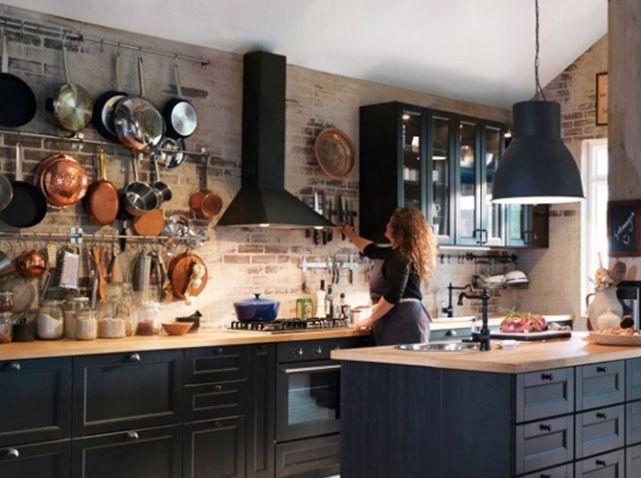Seasonal Mary Style: Working Kitchens