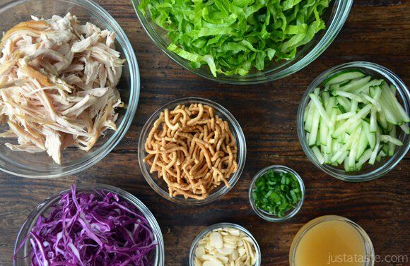 """Chinese Chicken Salad, Sesame Dressing Sometimes; It's """"All About The Chop"""""""