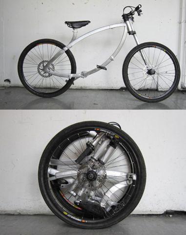 Flipad con esta bicicleta plegable