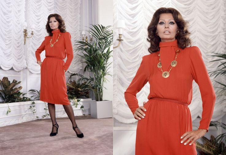 1979: Sophia Loren w Paryżu