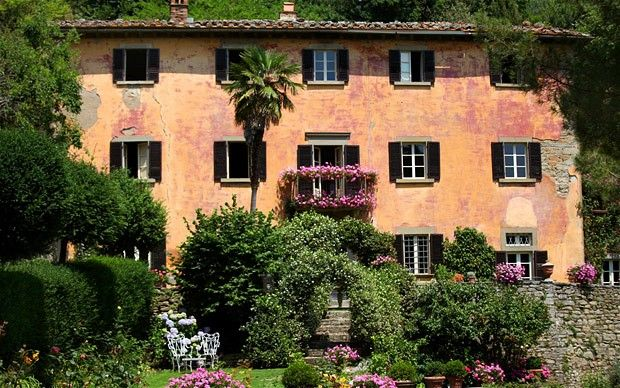 """""""Under the Tuscan Sun"""", Bramasole. This is the real one in the Tuscan town of Cortona that the Author Frances Mayes lives in- not the one used in filming. (which is not far from this one)"""