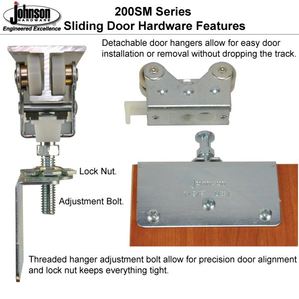 Johnson Hardware® Folding Door Hardware