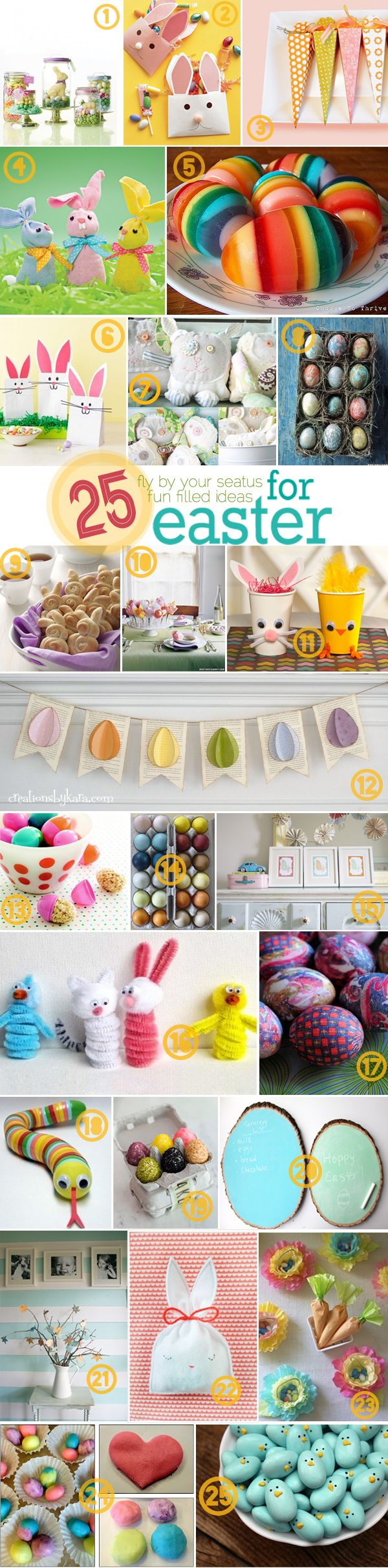 25 last minute ideas for Easter