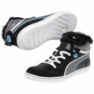 Dámské zimní boty Puma v nepřehlédnutelném designu. Díky vnitřnímu zateplenému kožíšku jsou boty ideální pro nošení v zimě.