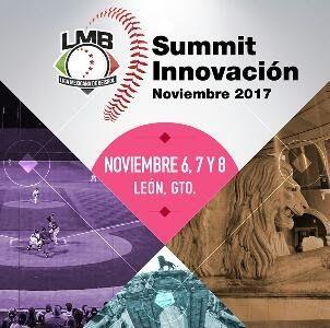 Ciudad de México.- La Liga Mexicana de Beisbol llevará a cabo el Summit de Innovación 2017, del 6 al 9 de noviembre, en la ciudad de León, G...