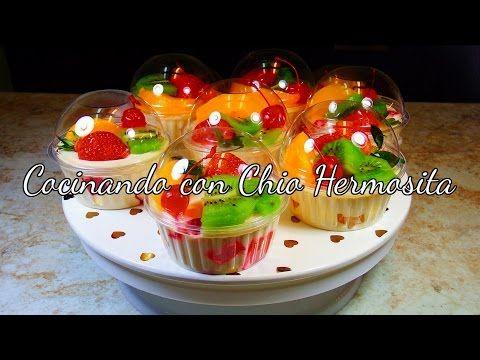 Gelatina de 3 Leches rellena de duraznos/Tres Leches JELLO with Peaches - DESDE MI COCINA by Lizzy - YouTube