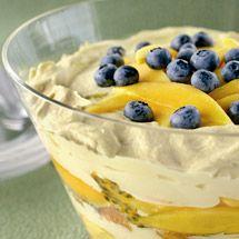 Mango & Passionfruit Trifle