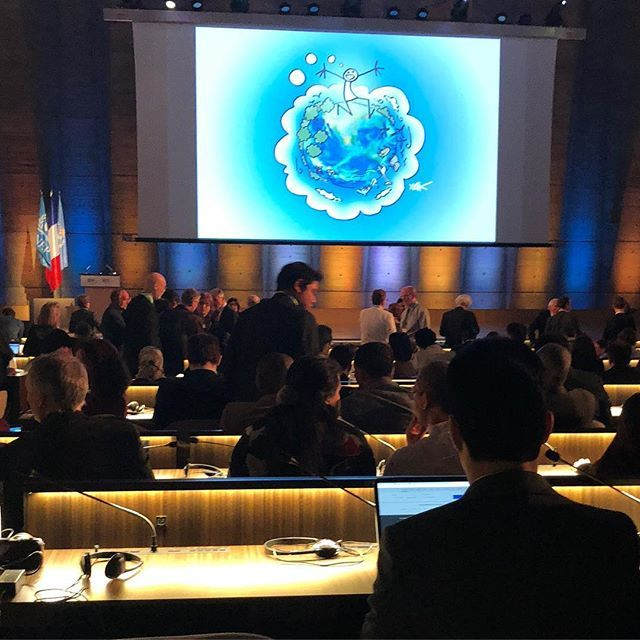 UNESCO / 30 ans du GIEC / Icpp #ClimateChange #ipcc30 #giec30 #unesco