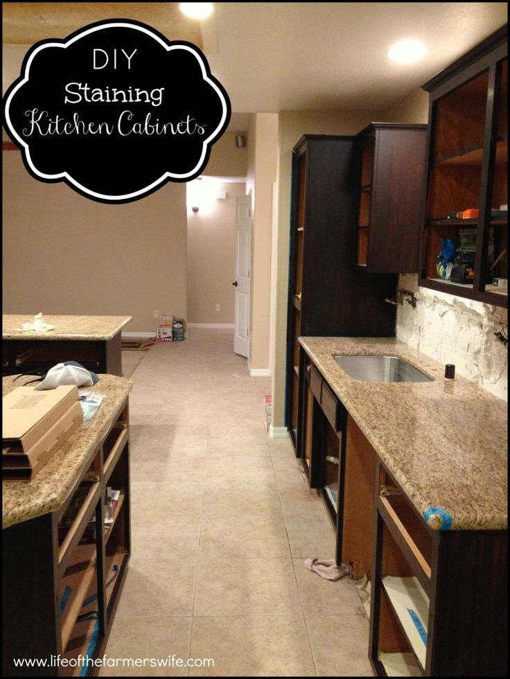 Kitchen Cabinets Java Color best 25+ stain kitchen cabinets ideas on pinterest | staining