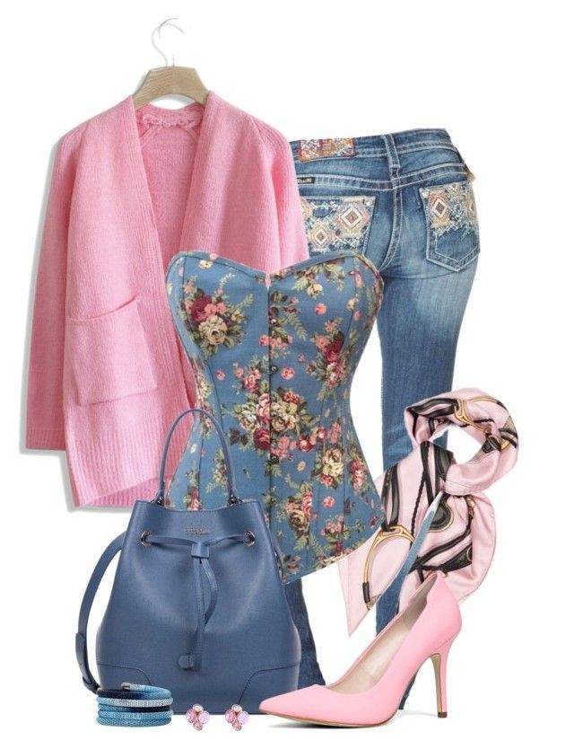 U0026quot;Corsetu0026quot; by rosipolooyas on Polyvore featuring moda Miss Me Chicwish Gucci ALDO Ted Baker y ...