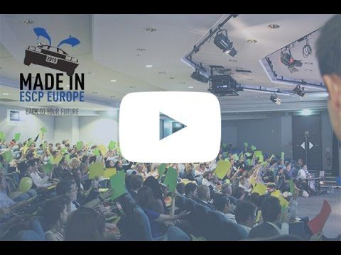 Made in ESCP Europe, 2015   For their annual startup pitch competition, ESCP Europe Paris invited 33 founding teams composed of students and alumni from ESCP Europe to present their projects. Over 400 jury members voted for their 5 favorite projects.    The winners: Glowee - http://www.glowee.fr/   Lunii - http://www.lunii.fr/   Meiso - http://www.meiso.fr/   Your Comics - http://your-comics.com/   Uni-CE