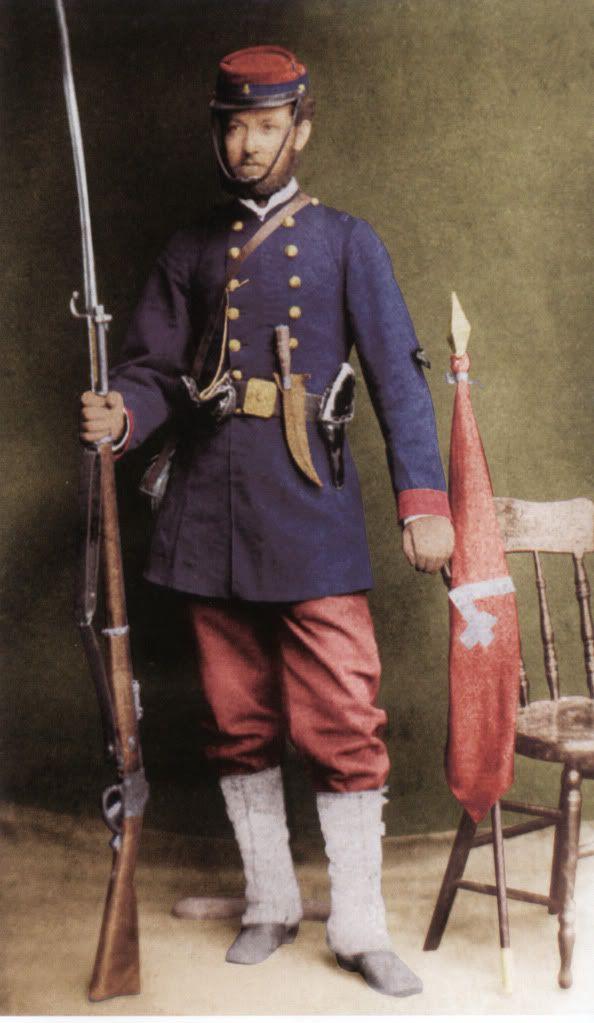 Soldado del Regimiento de Linea 4