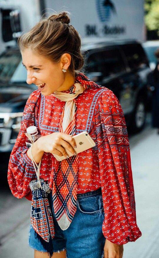 Vogue Spain. Street Style NYFW. Sept. 2016.
