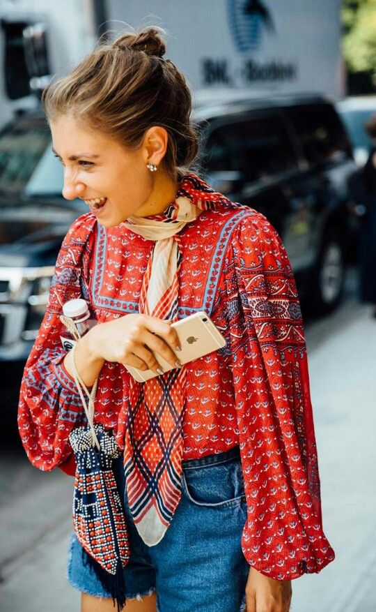 Vogue Spain. Street Style NYFW. Sept. 2016.