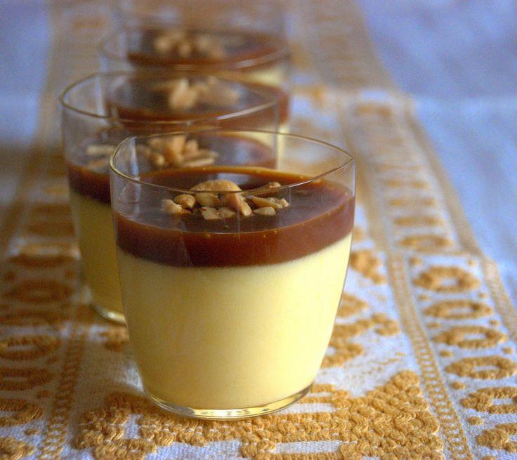 la gallina vintage: creme caramel e noccioline tostate di Façon Michalak