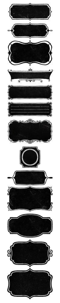 New Amazing Free Chalkboard frames for All of Our Subscribers