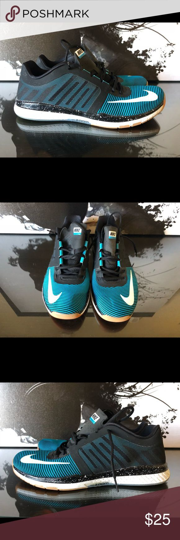 MENS NIKE ZOOM SPEED TR3 TRAINING SHOES 804401 ✔️ Shoes are pre owned, rarely worn tho still in excellent condition.  ✔️ I do not have the box for these.  ✔️ Will ship out within 24 hours.  ❌ No transactions outside of Posh ❌ No offers on this pair, priced to sell. Nike Shoes Athletic Shoes