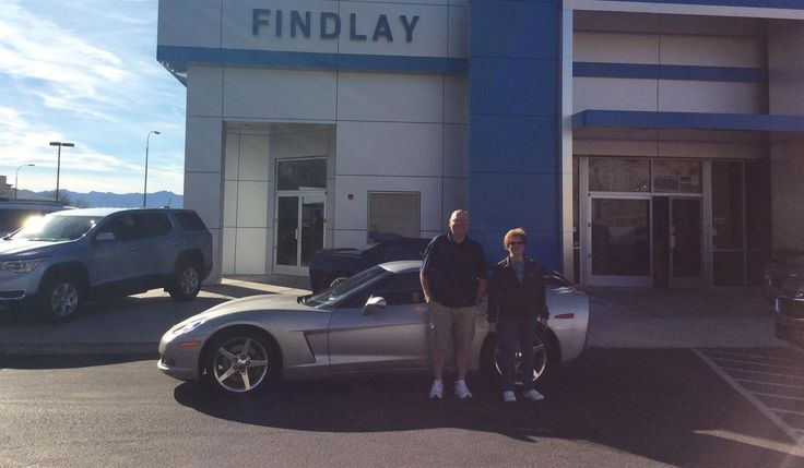 Thank you, Mark for the opportunity to help you with your new 2005 CHEVROLET CORVETTE!  All the best, Findlay Chevy Buick GMC and MELFORD STEWART.