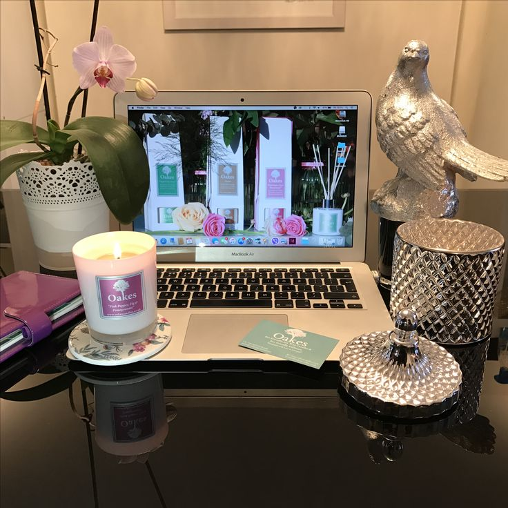 Oakes candles 2017 prepping for the launch of our new glass jar candle range 💖