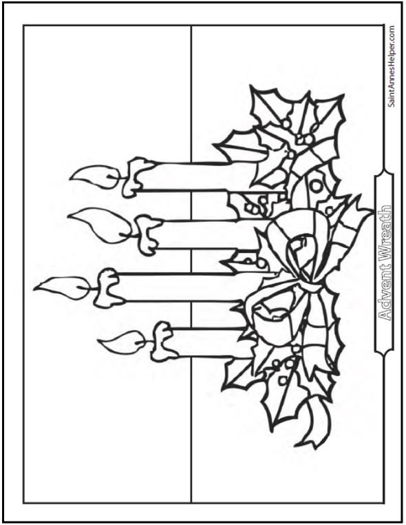 advent coloring pages crafts - photo#5