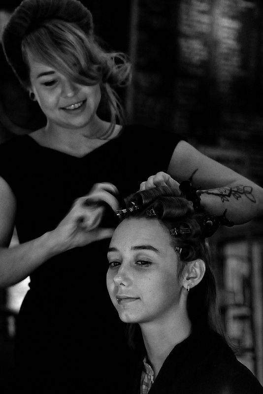 Vintage hairstyling by Madame De Pompadour | Flickr - Photo Sharing!
