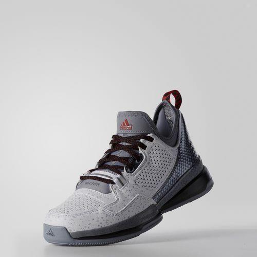 Men Basketball Adids D Lillard Shoes White/Gray Sprintframe Make Free Ship
