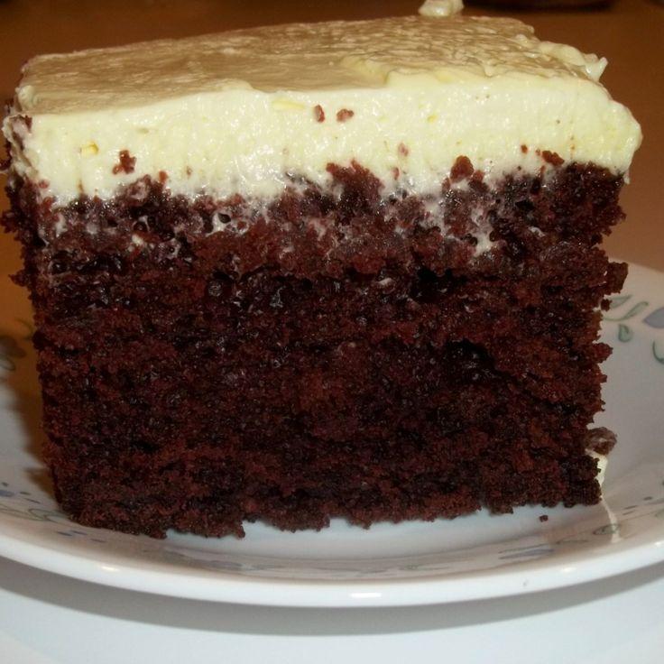Chocolate Wacky Depression Cake