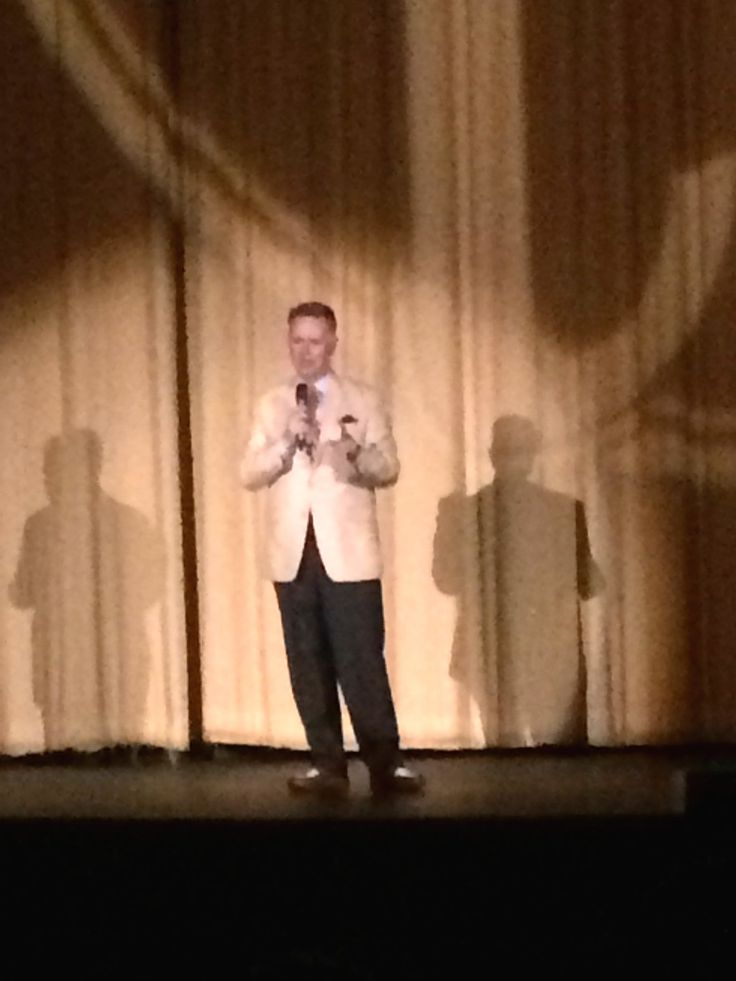 Eddie Muller, who hosts Noir Alley on TCM (Turner Classic Movie Channel) is also host and producer of the Noir City Film Festival. He was onstage at The Castro Theater and introduced each film beforehand, giving us lots of fun tidbits about the film.  Took this shot Feb. 2018