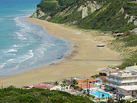 Agios Stefanos beach Corfu