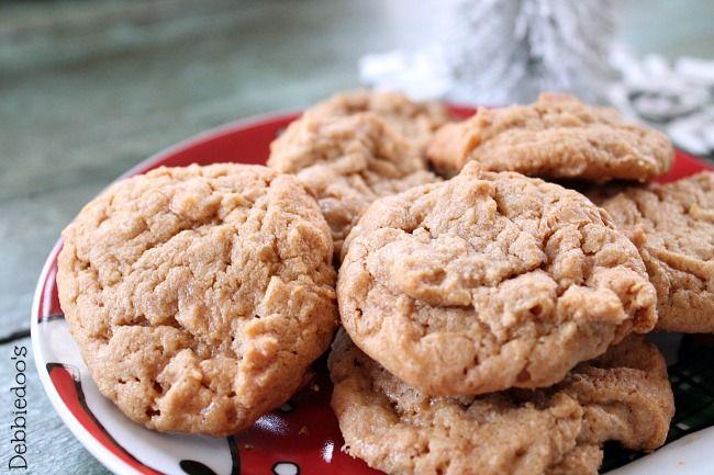 Peanut butter cookie recipe 011.... *1C 'PB', 1C sugar, 1 egg replacer, 1t vanilla. Bake 350 for 10 min!