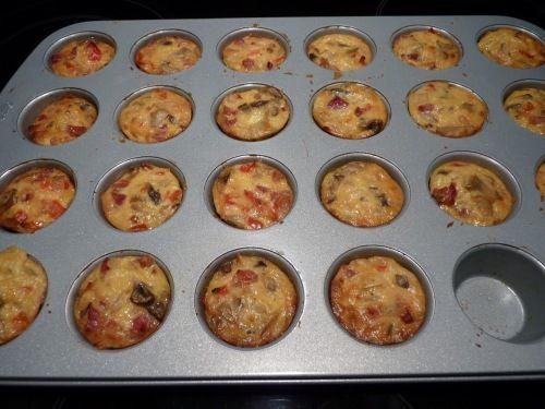 Hartige mini taartjes uit muffinvorm