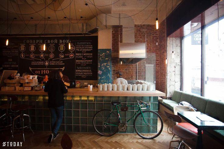 COVOK, cafe design by S. Gorshunov, A. Feoktistova